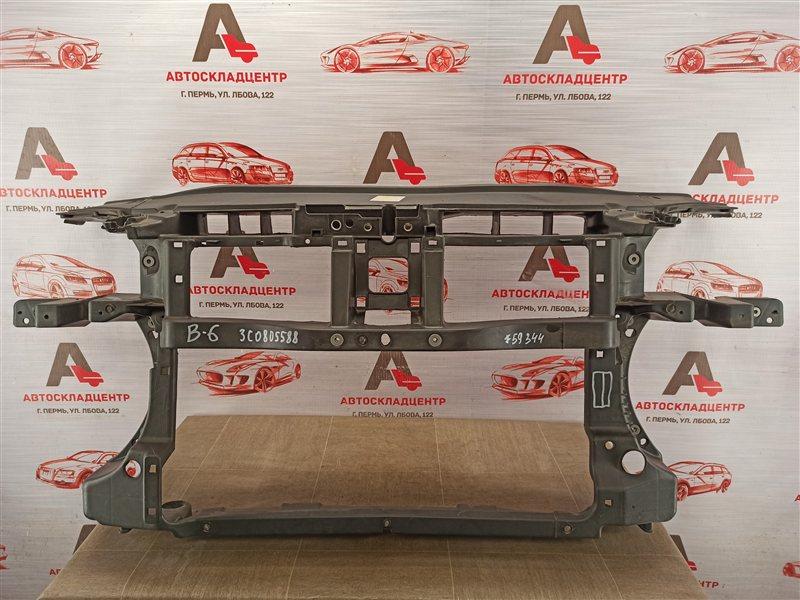 Панель передка (телевизор) - рамка радиатора Volkswagen Passat (B6) 2005-2010