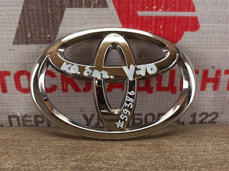 Эмблема (значок) Toyota Camry (Xv70) 2017-Н.в. задняя