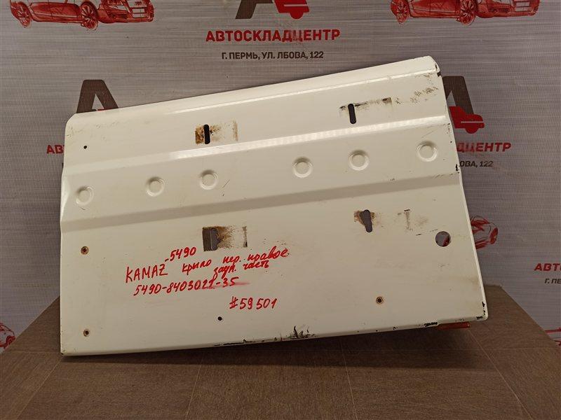 Крыло кабины - задняя часть Камаз 5490 правое
