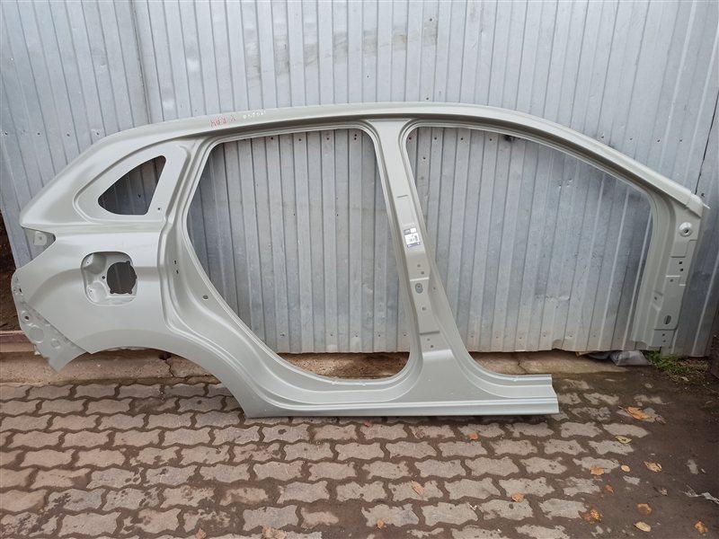 Кузов - боковина (обрезок) Lada X-Ray правый