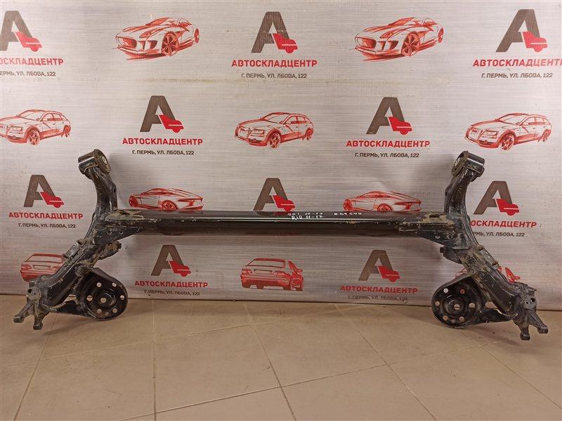 Подвеска задняя - балка Kia Rio (2011-2017)