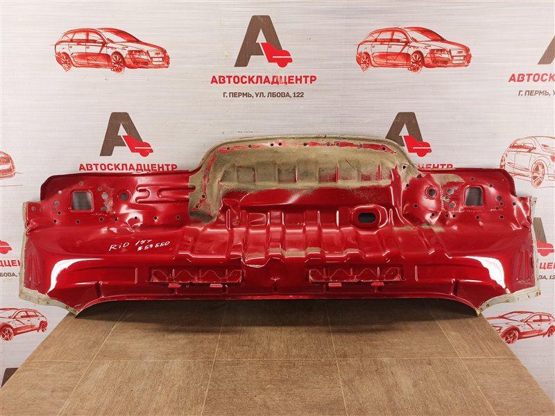 Кузов - панель задка Kia Rio (2017-Н.в.)