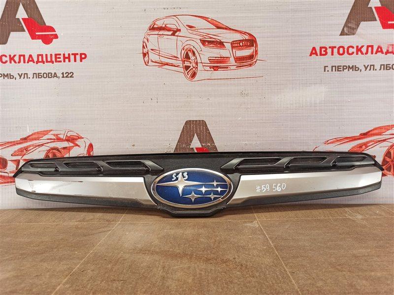 Решетка радиатора - молдинг Subaru Forester (S13) 2012-2019 2016