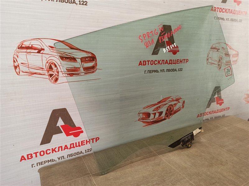 Стекло двери задней левой Kia Sportage (2016-Н.в.)
