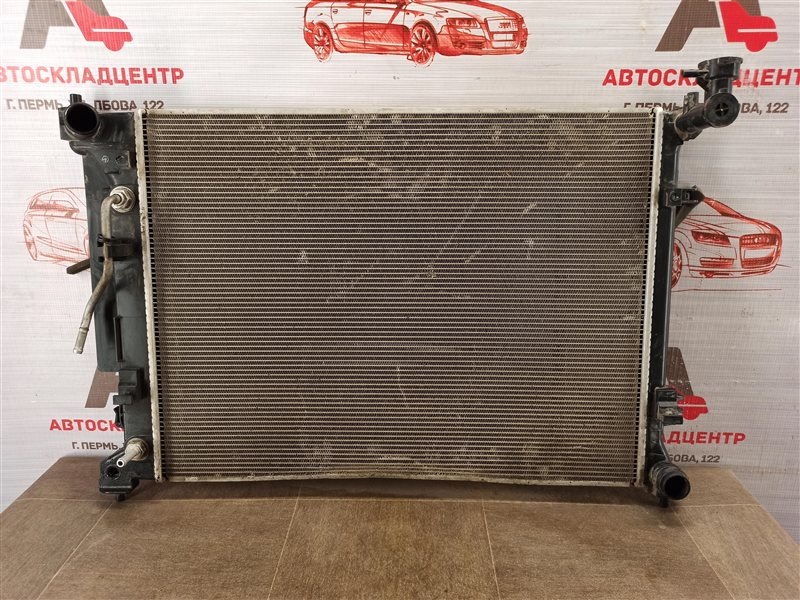 Радиатор охлаждения двигателя Kia Optima (2015-2020)
