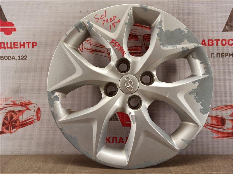 Колпак колесного диска Hyundai Solaris (2010-2017) 2014