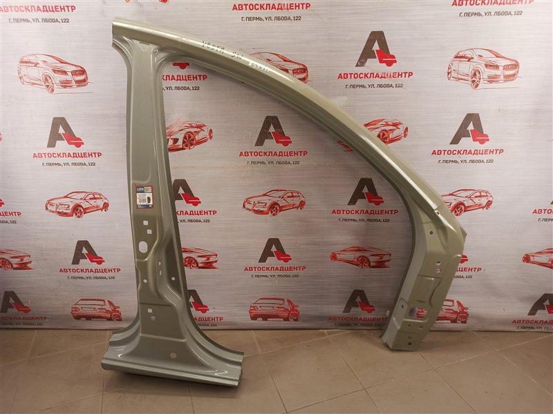 Кузов - боковина (обрезок) Lada Vesta передний правый