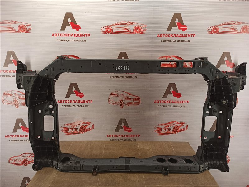Панель передка (телевизор) - рамка радиатора Kia Sportage (2010-2016)