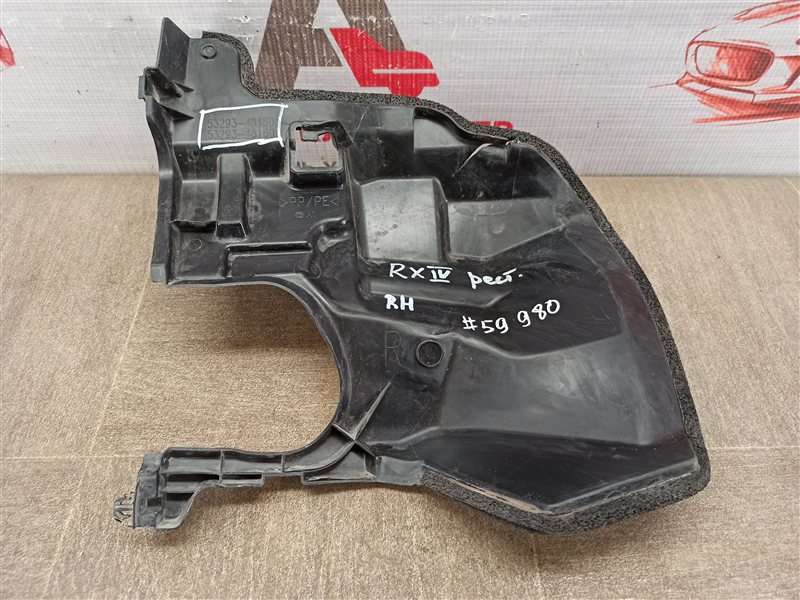 Дефлектор воздушного потока основного радиатора Lexus Rx -Series 2015-Н.в. 2019 правый