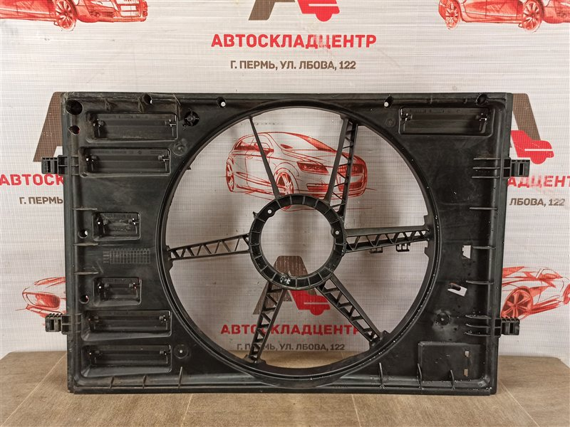 Диффузор радиатора охлаждения - рамка вентиляторов Seat Leon (2012-2015)