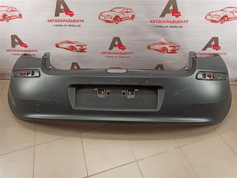 Бампер задний Renault Clio (2005-2011) 2005
