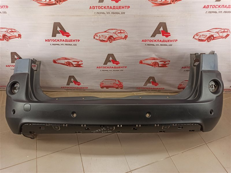 Бампер задний Renault Scenic (2003-2009)