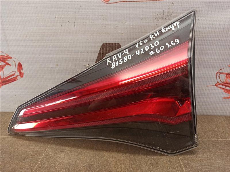 Фонарь правый - вставка в дверь / крышку багажника Toyota Rav-4 (Xa40) 2012-2019 2015