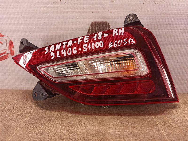 Фонарь противотуманный Hyundai Santa-Fe (2012-2019) правый