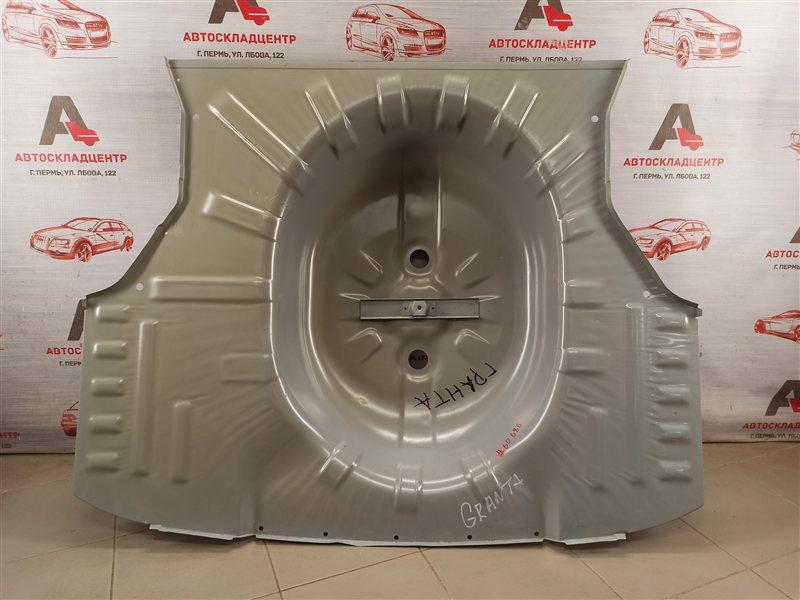 Кузов - панель пола багажника Lada Granta