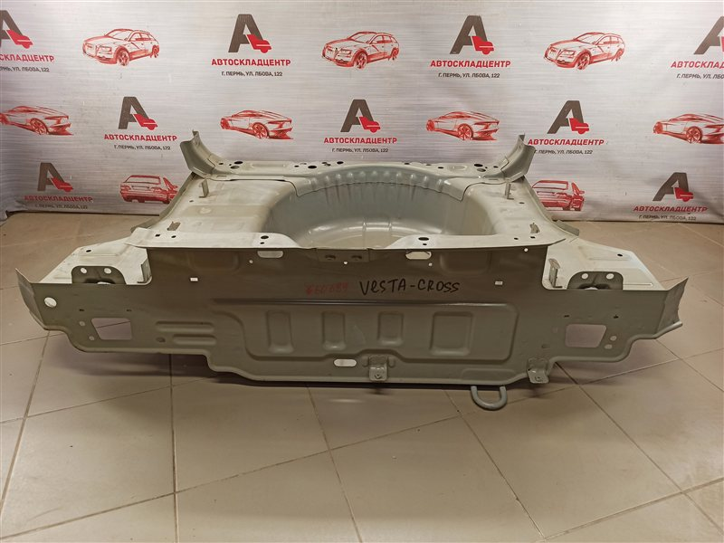 Кузов - панель пола багажника Lada Vesta