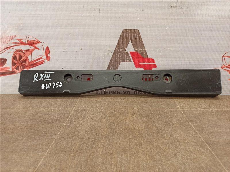 Планка (рамка) номерного знака Lexus Rx -Series 2008-2015 2012