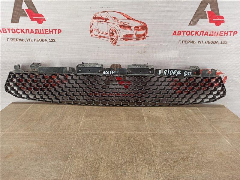 Усилитель бампера переднего - отбойник нижний Lada Priora 2013