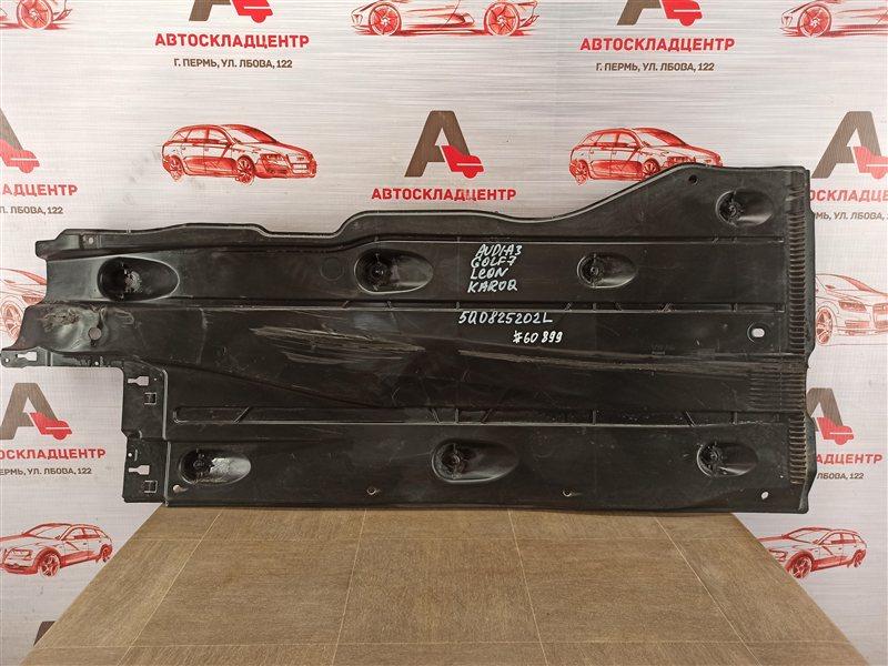 Защита днища кузова Audi A3 (2012-Н.в.) правая