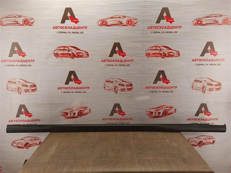 Накладка порога кузова - наружная облицовка Geely Mk Cross 2012-2016 левая