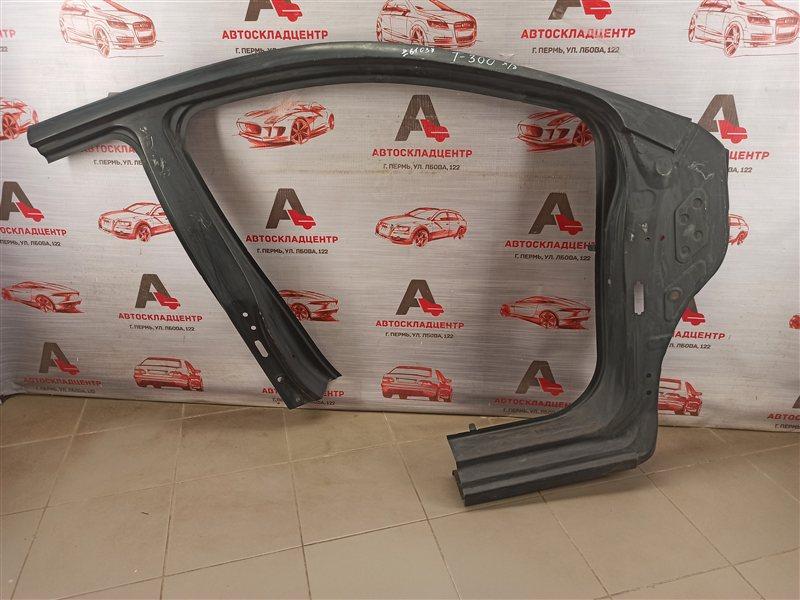 Кузов - боковина (обрезок) Chevrolet Aveo 2012-2015 правый
