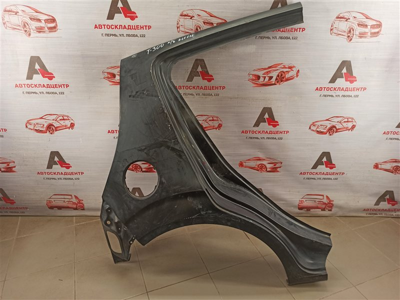 Крыло заднее правое Chevrolet Aveo 2012-2015