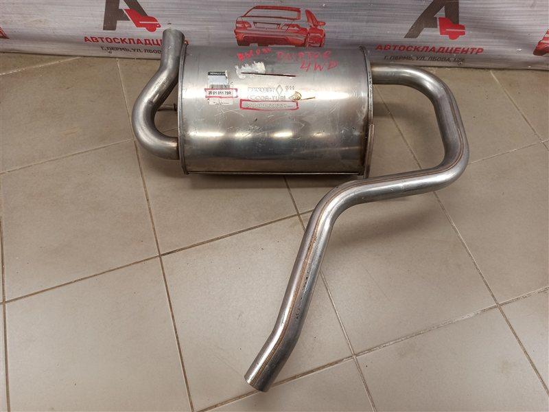 Выхлопная система - глушитель Renault Duster (2010-Н.в.)