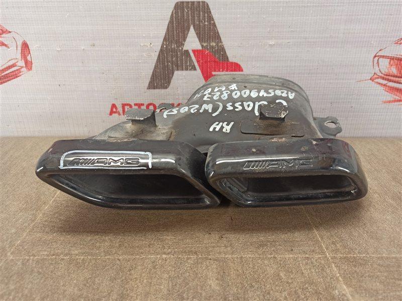 Выхлопная система - насадка глушителя Mercedes C-Klasse (W205) 2013-Н.в. правая