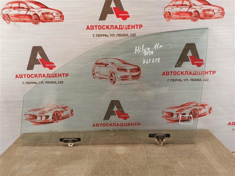 Стекло двери передней левой Toyota Hilux (2011-2015)
