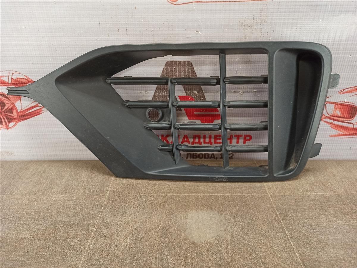 Решетка бампера переднего Audi Q8 (2018-Н.в.) левая