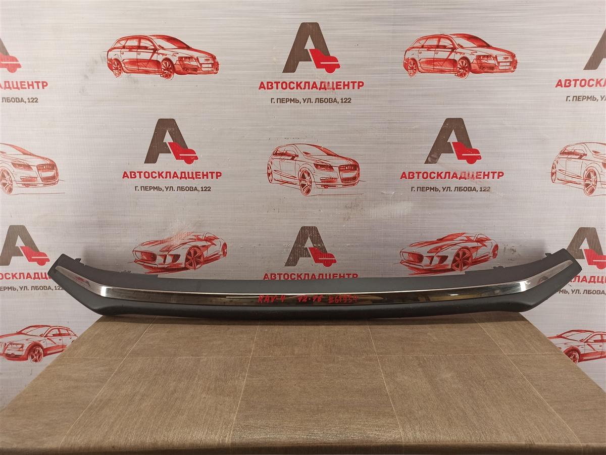 Спойлер (юбка) бампера переднего Toyota Rav-4 (Xa40) 2012-2019 2012