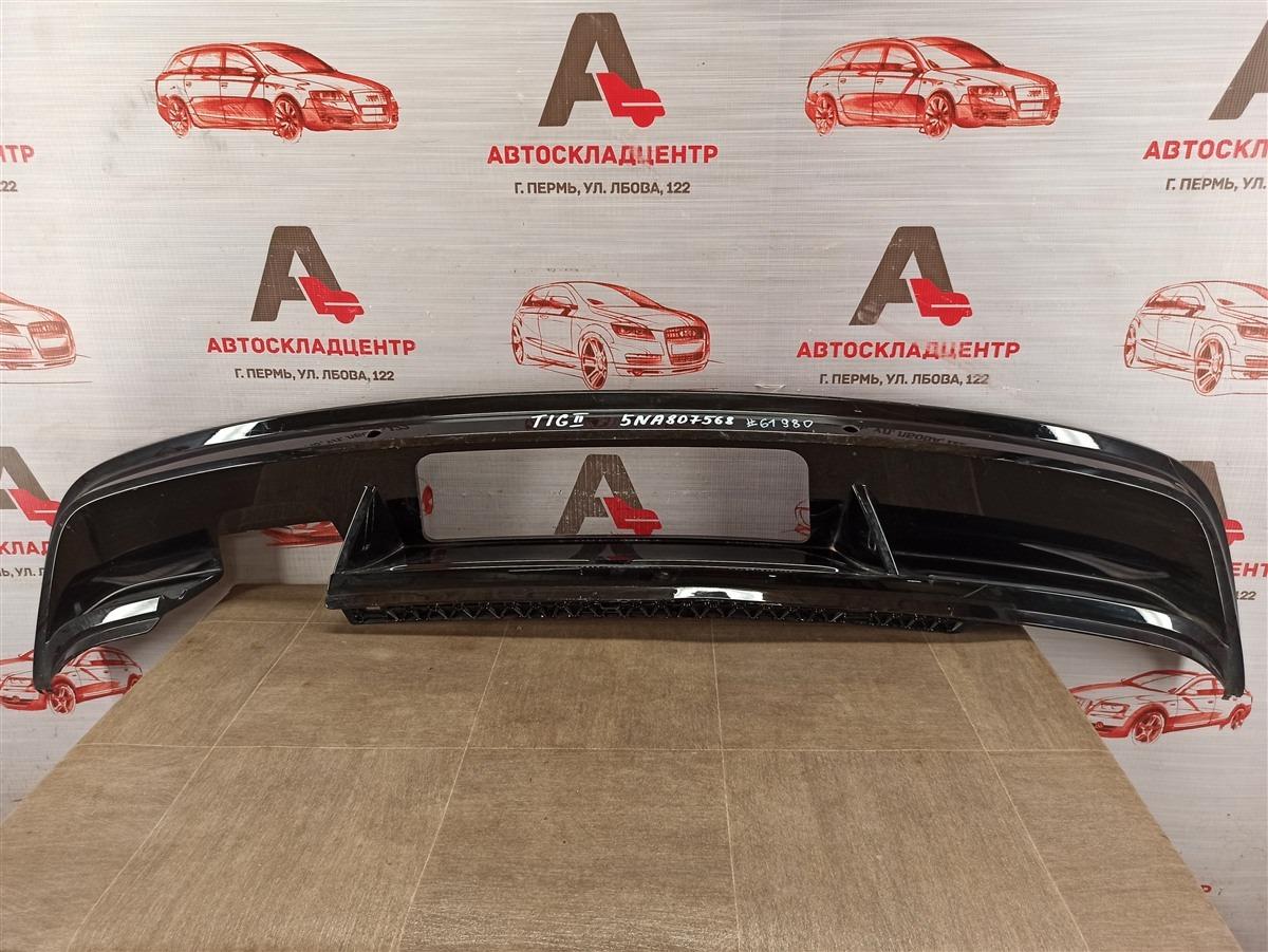 Спойлер (накладка) бампера заднего Volkswagen Tiguan (2017-Н.в.)