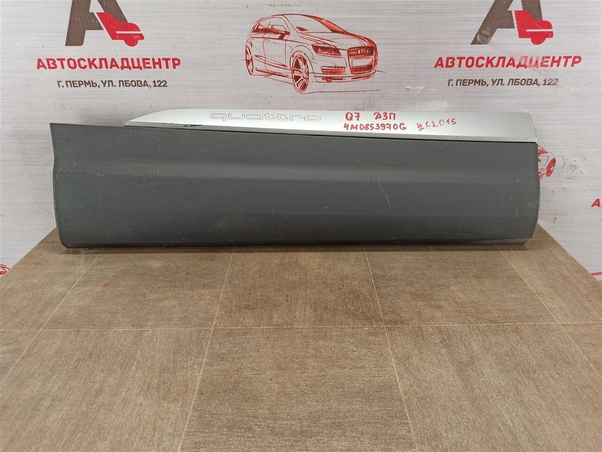 Накладка двери задней правой Audi Q7 (2015-Н.в.)