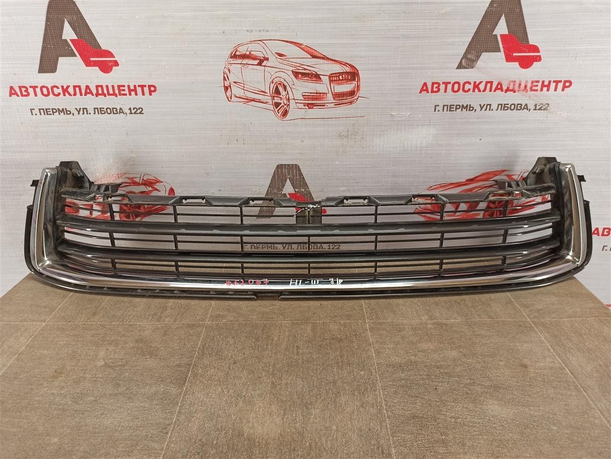 Решетка бампера переднего Toyota Highlander (Xu50) 2013-Н.в. 2013