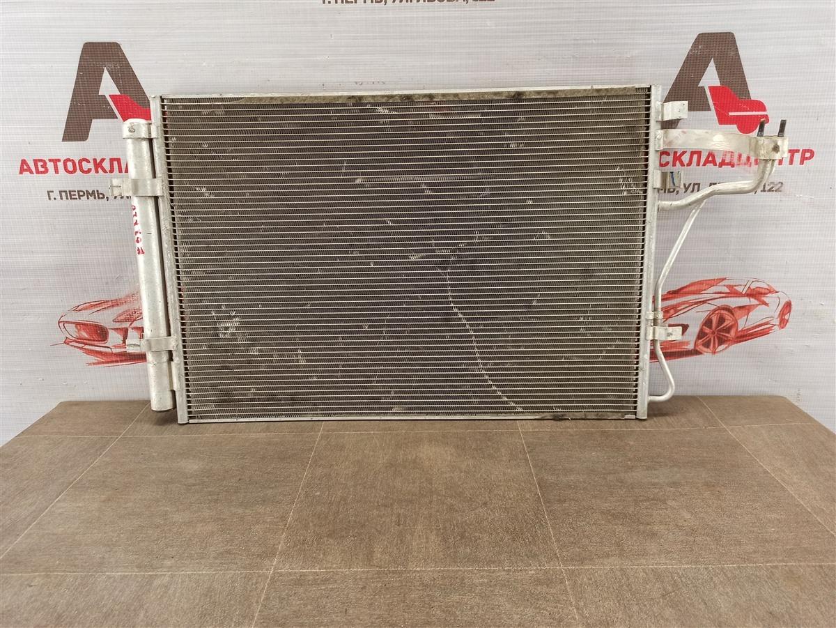 Конденсер (радиатор кондиционера) Kia Stinger (2017-Н.в.)