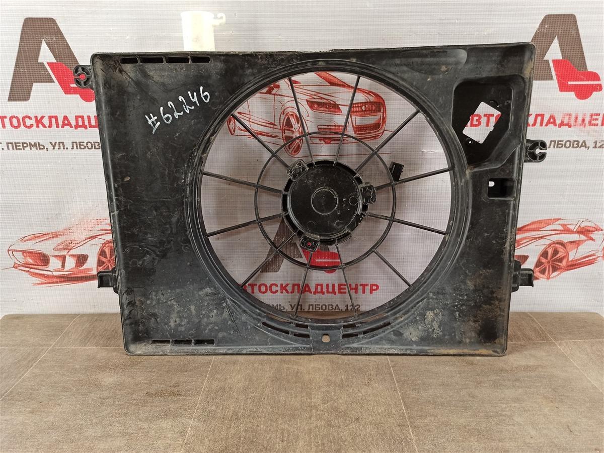 Диффузор радиатора охлаждения - рамка вентиляторов Hyundai Creta (2015-Н.в.)