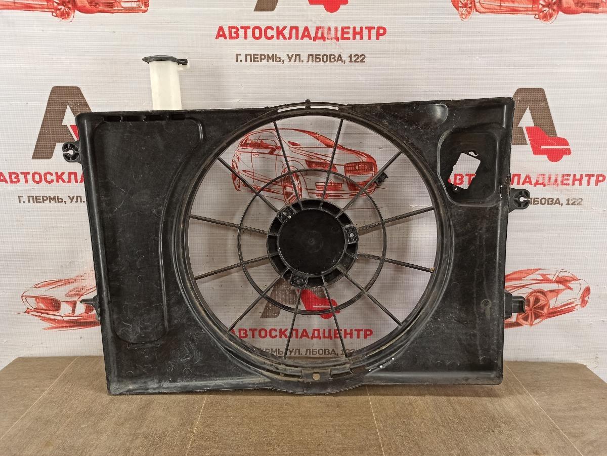 Диффузор радиатора охлаждения - рамка вентиляторов Kia Seltos (2019 - Н.в.)