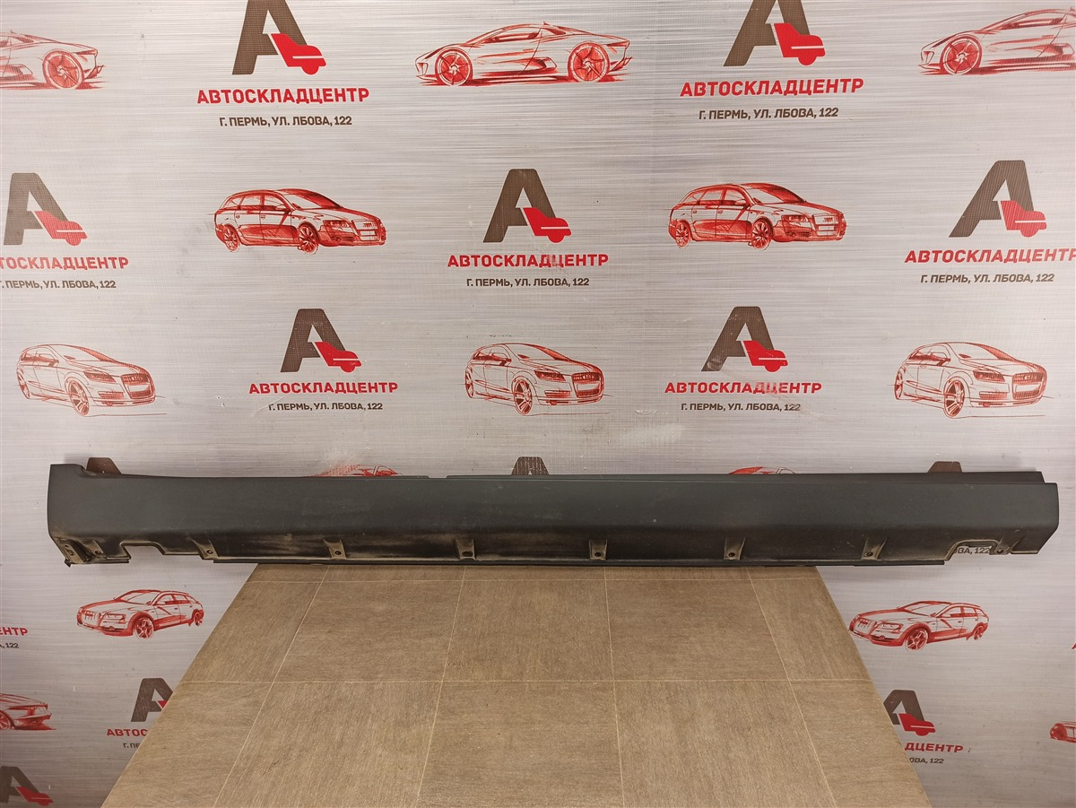 Накладка порога кузова - наружная облицовка Kia Sorento (2009-Н.в.) правая