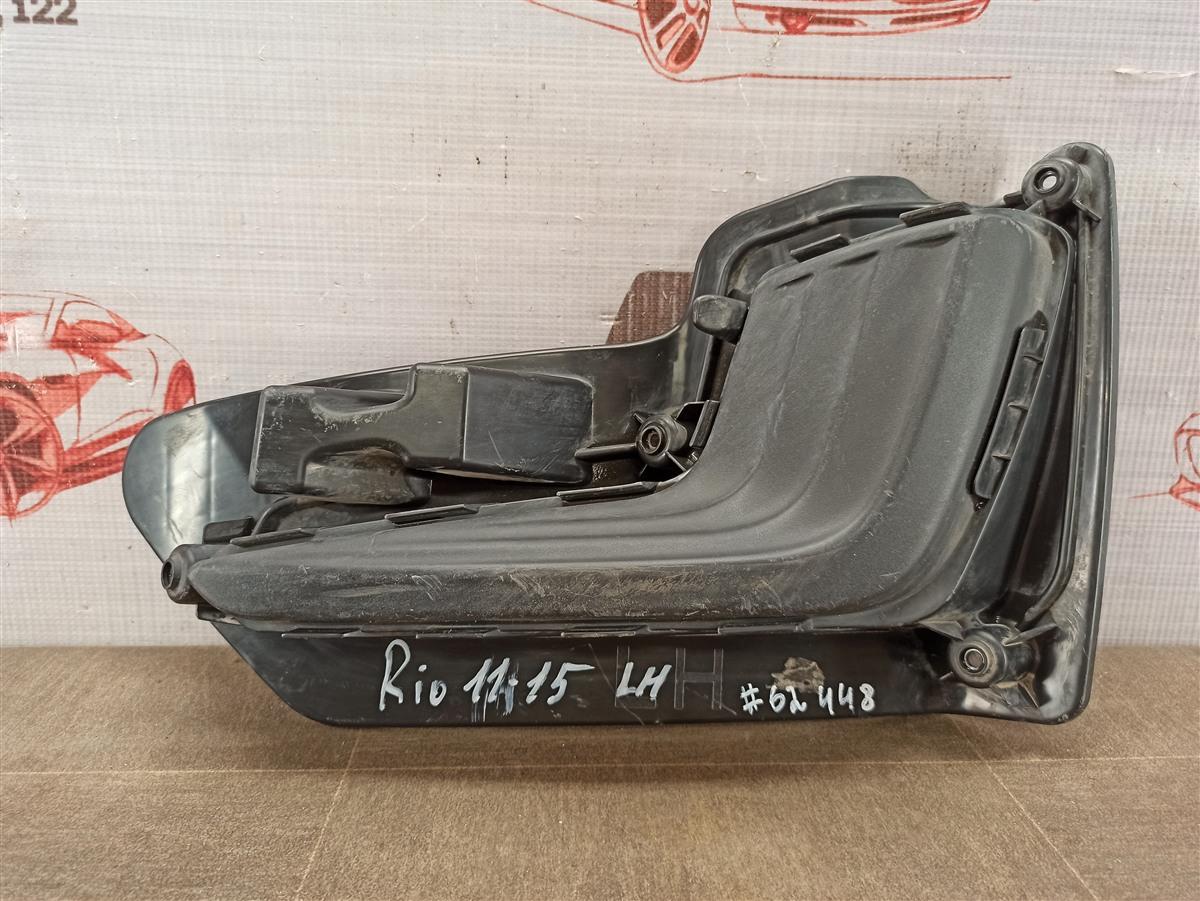Заглушка противотуманной фары Kia Rio (2011-2017) левая