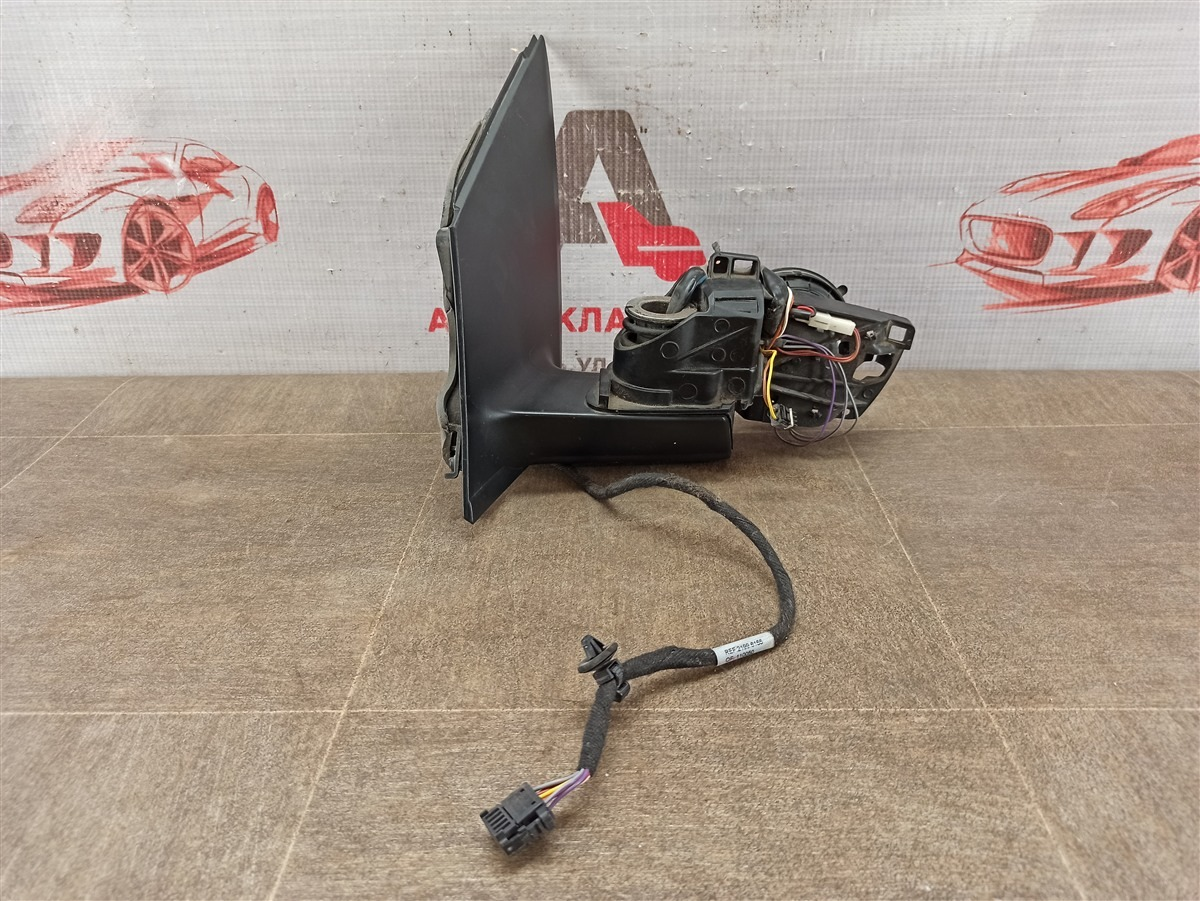 Зеркало левое - кронштейн (поворотный механизм) Volkswagen Polo (Mk5) Седан 2010-2020