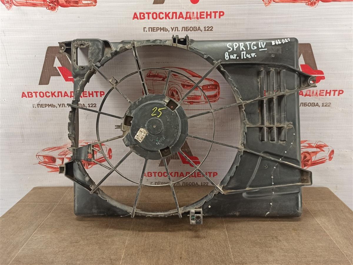 Диффузор радиатора охлаждения - рамка вентиляторов Hyundai Tucson (2015-Н.в.)