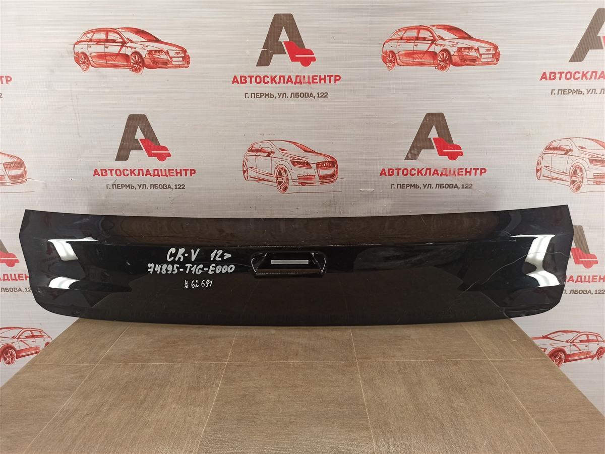 Накладка / молдинг двери багажника Honda Cr-V 4 (2012-2017) нижняя