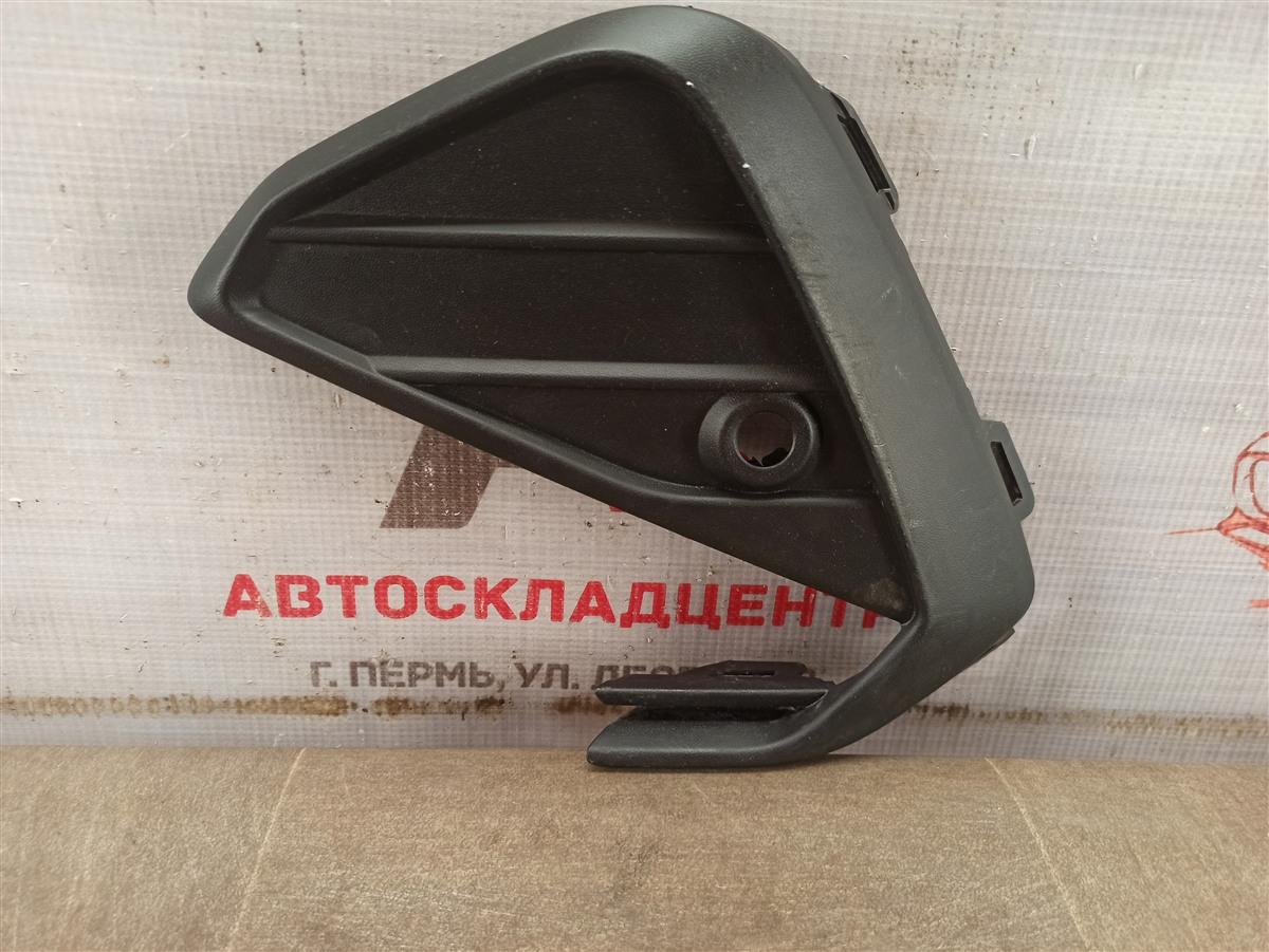 Решетка бампера переднего Volkswagen Polo (Mk6 Rus) 2020-Н.в. левая