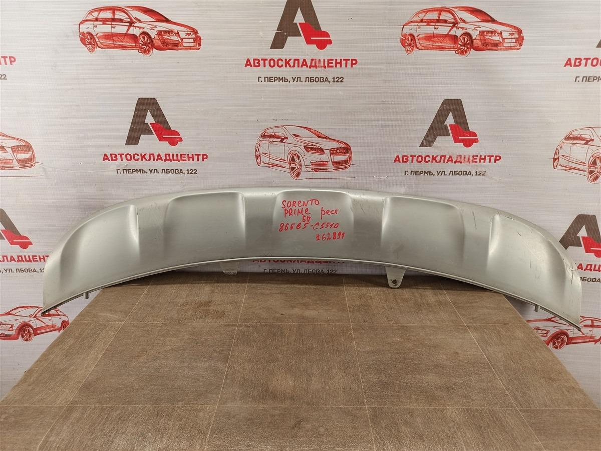 Спойлер (юбка) бампера переднего Kia Sorento Prime (2014-Н.в.) 2017