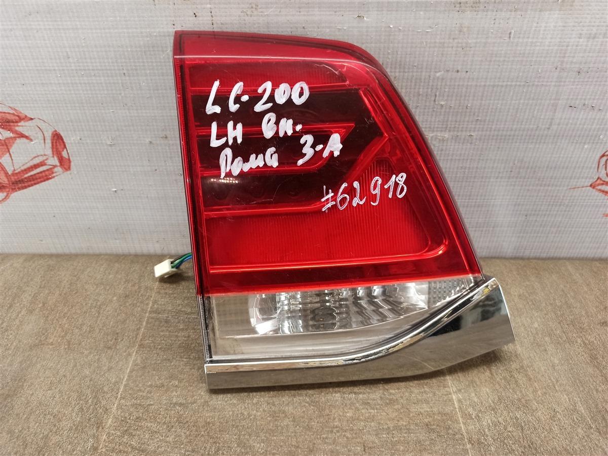 Фонарь левый - вставка в дверь / крышку багажника Toyota Land Cruiser 200 (2007-Н.в.) 2015