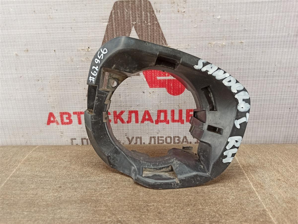 Кронштейн противотуманной фары / ходового огня Renault Sandero (2009-2014) правый