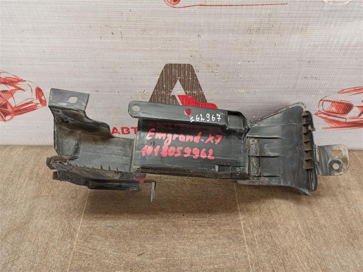 Дефлектор воздушного потока основного радиатора Geely Emgrand X7 2013-Н.в. 2019 правый