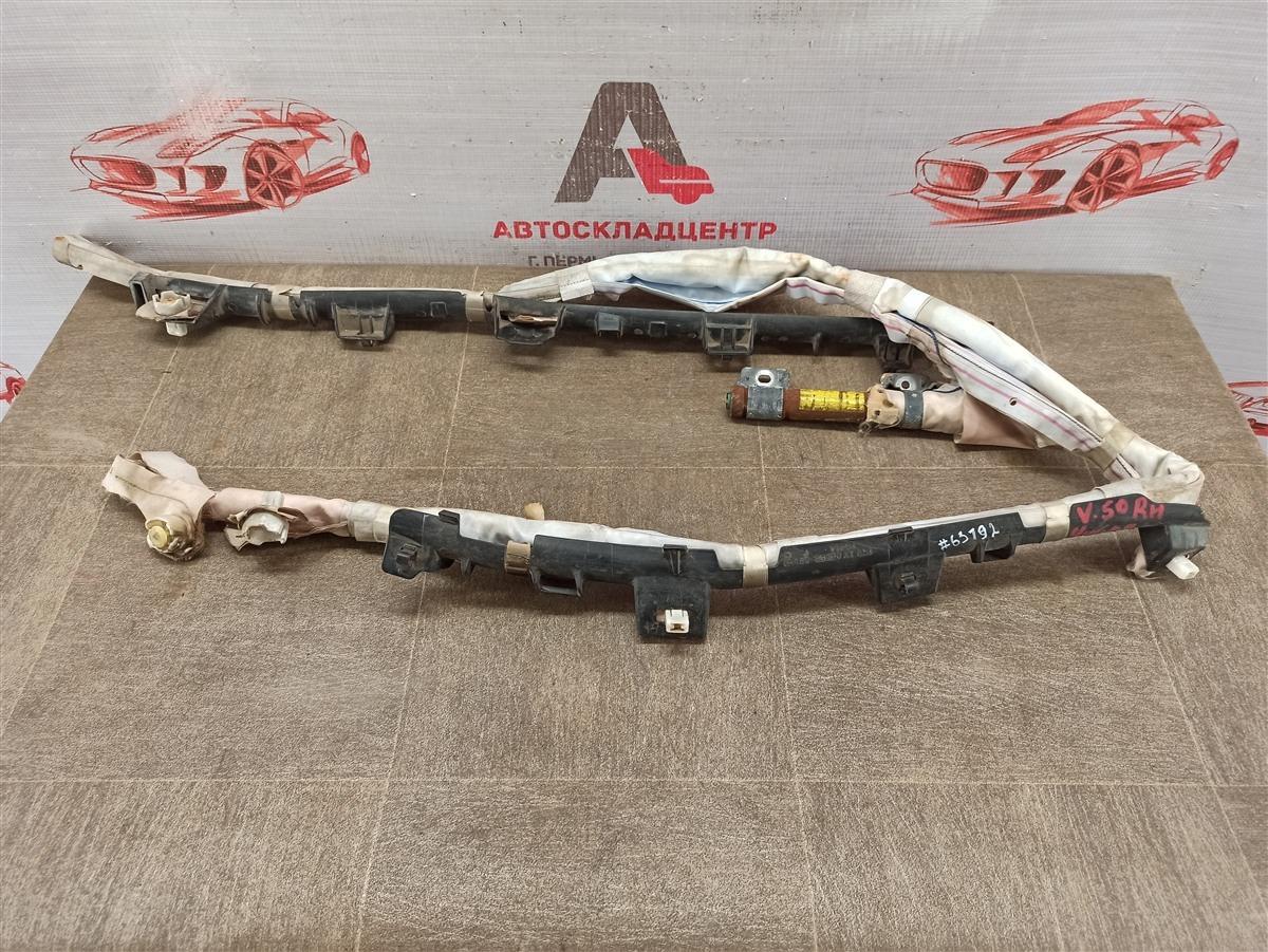 Подушка безопасности (airbag) - боковая шторка Toyota Camry (Xv50) 2011-2017 правая