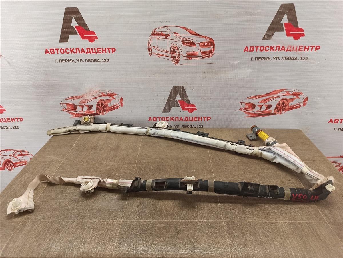 Подушка безопасности (airbag) - боковая шторка Toyota Camry (Xv50) 2011-2017 левая