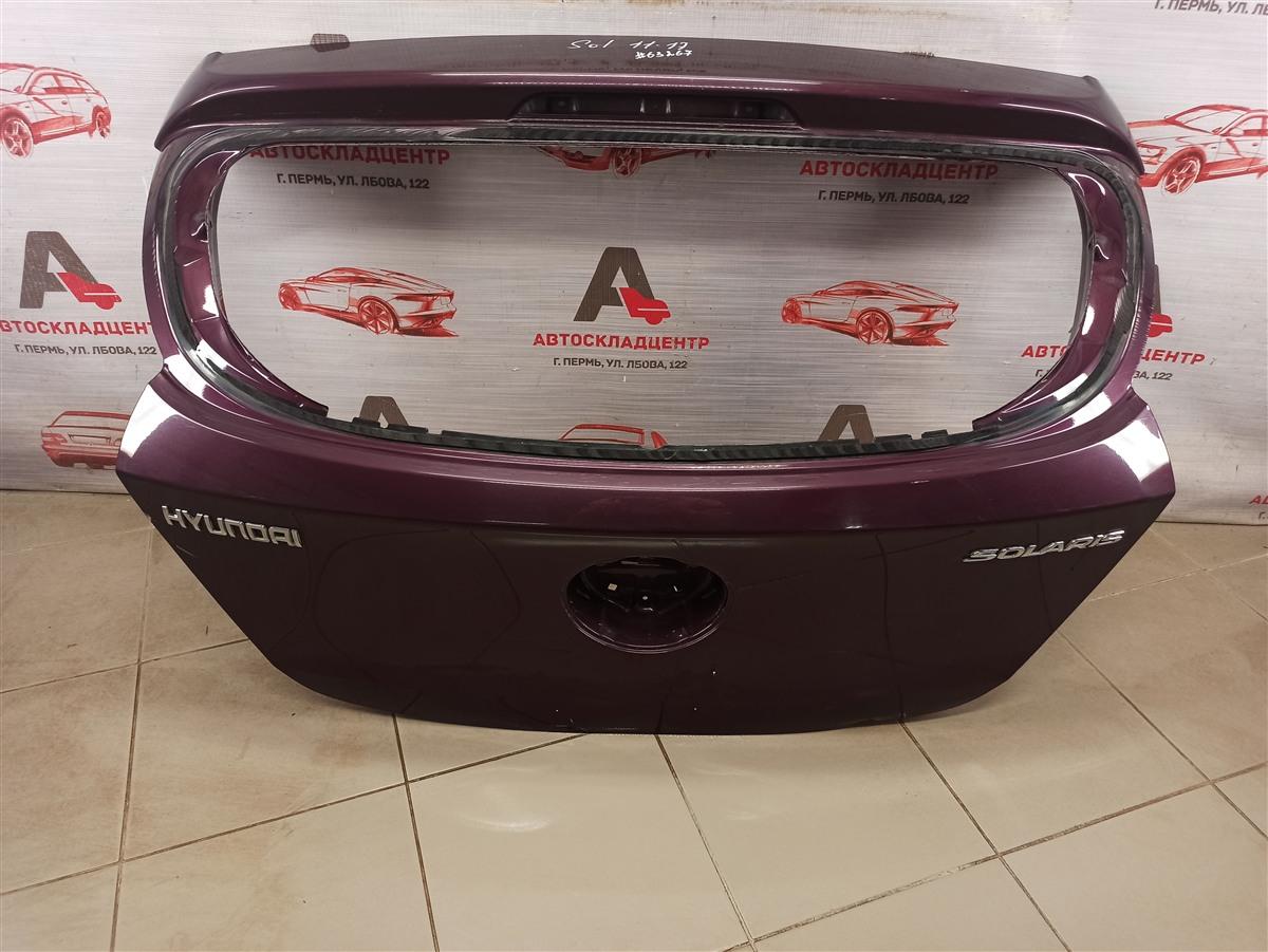 Дверь багажника Hyundai Solaris (2010-2017)
